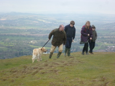 Malvern Hills dog walks, Worcestershire - Driving with Dogs