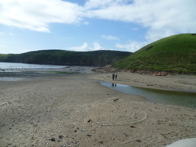 Llyn peninsula dog friendly beach, Gwynedd, Wales - Driving with Dogs