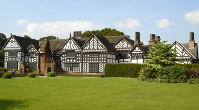Speke Hall, Liverpool, Merseyside - Driving with Dogs