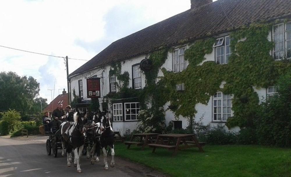 Tetford dog walk and dog-friendly pub, Lincolnshire - Dog walks in Lincolnshire