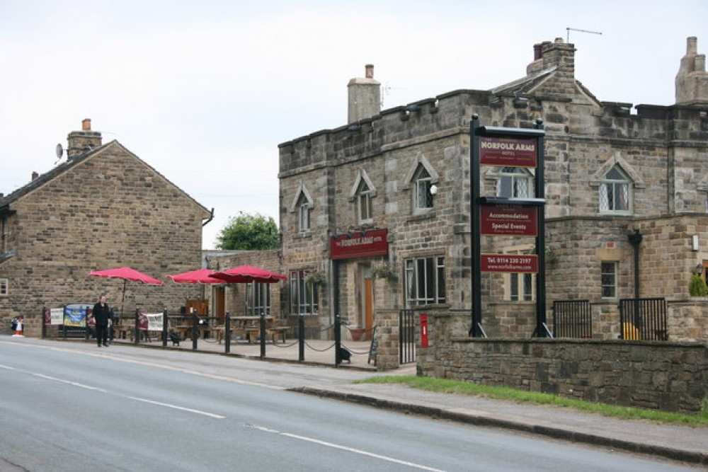 Ringinglow dog-friendly pub near Sheffield, Yorkshire - Dog walks in Yorkshire