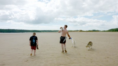 Oxwich dog-friendly Beach, Gower Peninsula, Wales - Driving with Dogs