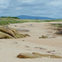A9 dog-friendly beach at Dornoch, Scotland - Dog walks in Scotland