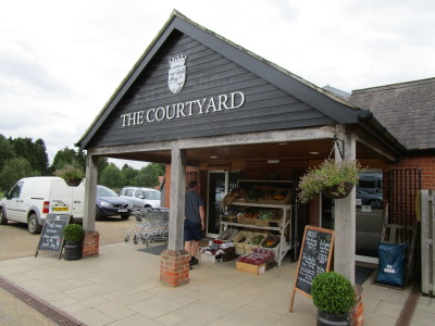 A11 Elveden shopping and short dog walk, Norfolk - Driving with Dogs