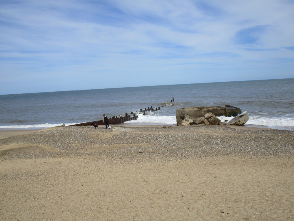 Gunton Denes dog-friendly beach, Suffolk - Dog walks in Suffolk