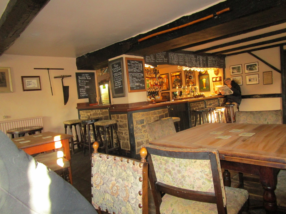 Middlezoy dog-friendly pub and dog walk, Somerset - Dog walks in Somerset