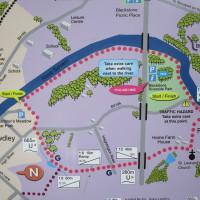 Riverside Park dog walk near Bewdley, Worcestershire - Dog walks in Worcestershire