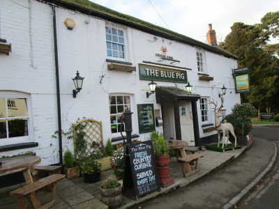 A5 north of Coventry dog-friendly pub and dog walk, Warwickshire - Driving with Dogs