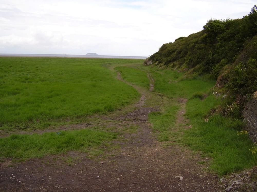 M5 Junction 21 Sand point dog-friendly beach near Weston, Somerset