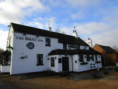 A426 near Leamington dog-friendly pub and dog walk, Warwickshire - Driving with Dogs