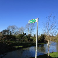 Canalside dog-friendly pub and dog walk near the A45, Northamptonshire - Dog walks in Northamptonshire