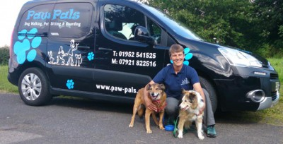 Paw Pals Telford North, Shropshire - Driving with Dogs