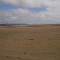 Dog-friendly beach near Porthmadog, Wales