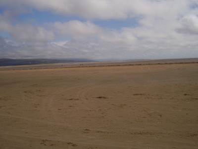 Morfa Bychan dog-friendly beach near Porthmadog, Wales - Driving with Dogs