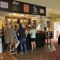 A352 dog-friendly pub and dog walk, Dorset - wool-pub-bar-dogfriendly.jpg