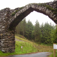 The Arch dog walk near Devil's Bridge, Ceredigion, Wales - Dog walks in Wales