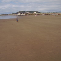 Tywyn dog-friendly beach, Wales - Dog walks in Wales