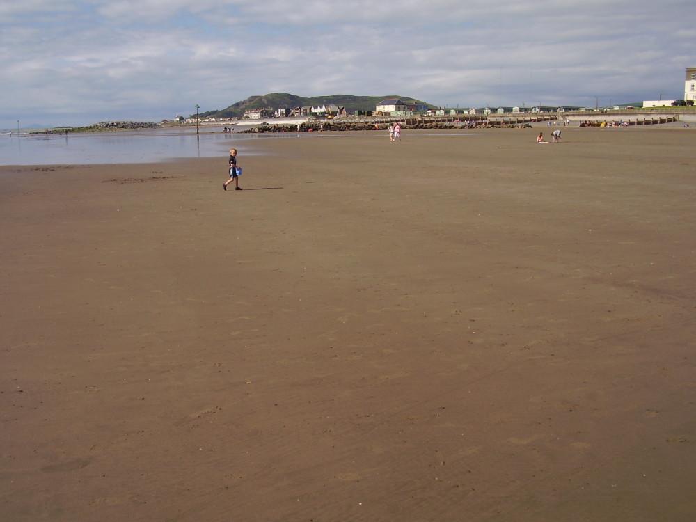 Tywyn dog-friendly beach, Wales - Dog walks in Wales