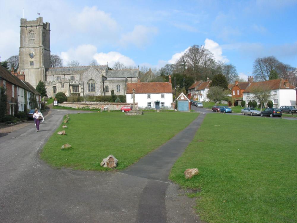Dog-friendly pub and walk on the Downs, Wiltshire - Dog walk and daleks.jpg