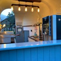 A352 Village cafe, pub, shop and dog walk, Dorset - coffee bar.jpg