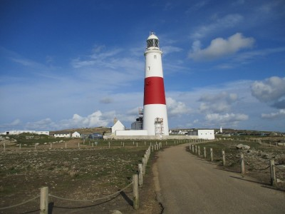Portland Bill and the coast path, Dorset - Driving with Dogs