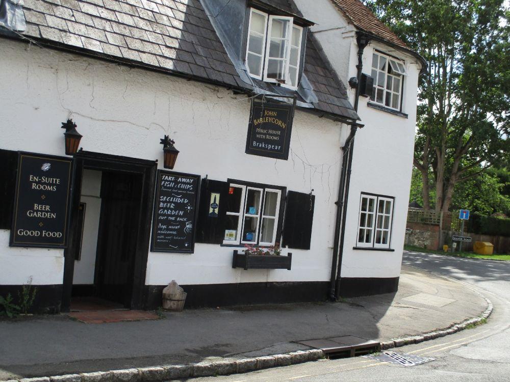 Goring dog-friendly pub and dog walk, Oxfordshire - Thames dog walk and dog-friendly pub.JPG