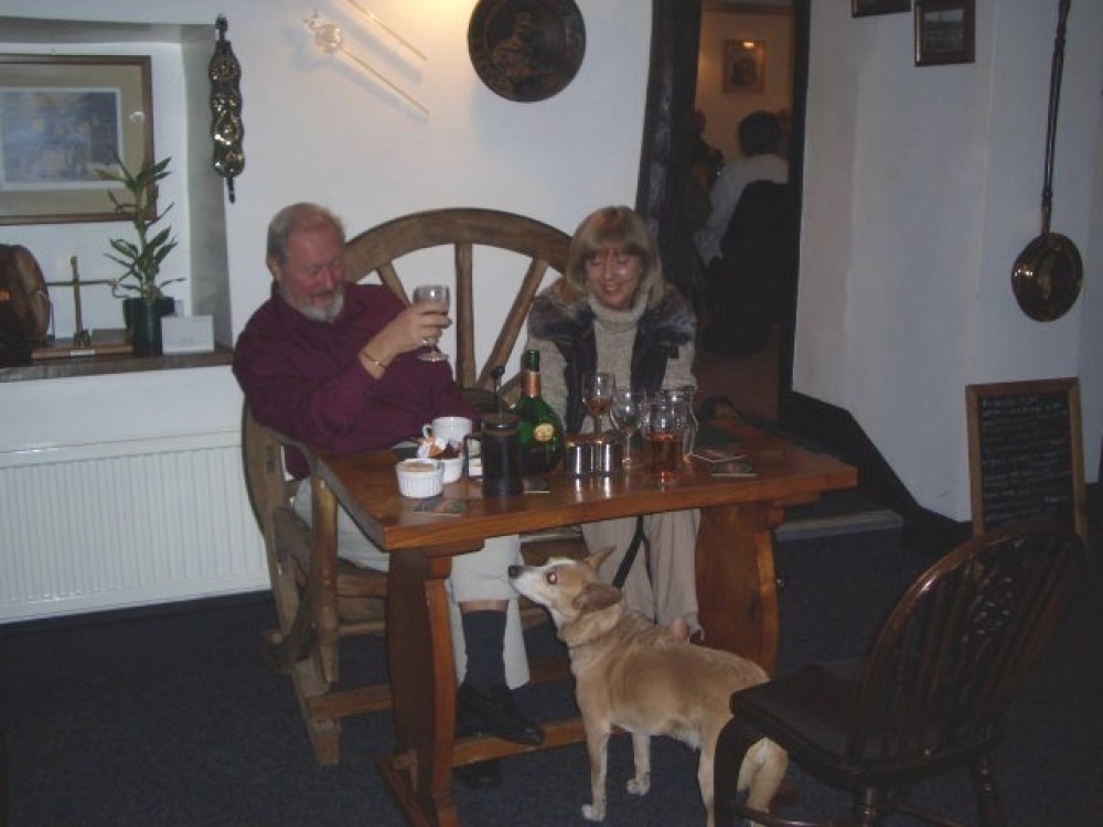 Moorland dog walk and dog-friendly pub, Yorkshire - Dog walks in Yorkshire