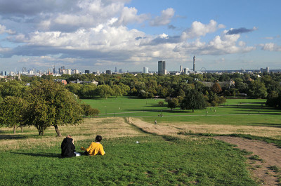 Primrose Hill local dog walks, Greater London - Driving with Dogs