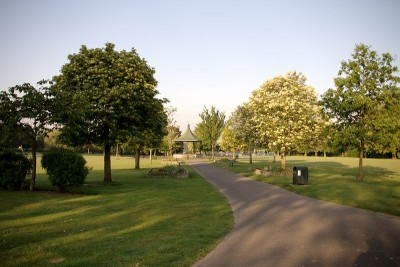 Elthorne Park, Hanwell, Greater London - Driving with Dogs