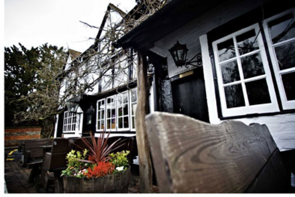 Sonning-on-Thames dog walk and dog-friendly pub, Berkshire - Dog walks in Berkshire