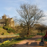 A9 dog walk in Dunblane, Scotland - Dog walks in Scotland
