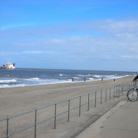 Sandilands dog-friendly beach, Lincolnshire