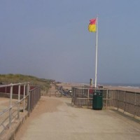 Sandilands dog-friendly beach, Lincolnshire - Dog walks in Lincolnshire