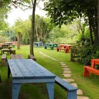 Dog-friendly inn with large garden near Langport, Somerset - Somerset dog friendly pub and dog walk