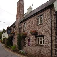 M4 Junction 24 dog walk and dog-friendly pub near Caerleon, Gwent, Wales - Dog walks in Wales