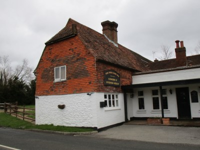 Dog-friendly pub and reservoir dog walk near Edenbridge, Kent - Driving with Dogs