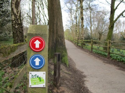 M23 Junction 11 dog walk and clean WCs, West Sussex - Driving with Dogs