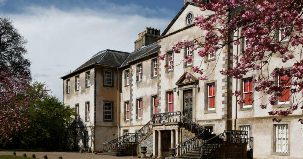Newhailes estate, river and forest dog walk, Scotland - Dog walk near Edinburgh