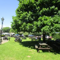 A44 dog-friendly pub near Woodstock, Oxfordshire