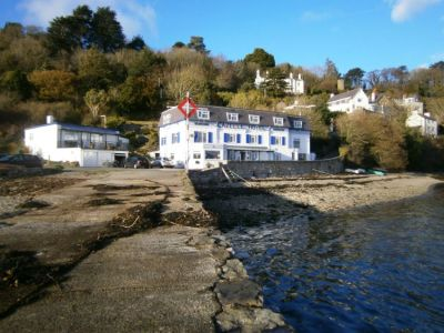 Dog-friendly hotel and waterside terrace Anglesey, Wales - Driving with Dogs