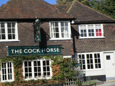 Detling dog-friendly pub, Kent - Driving with Dogs