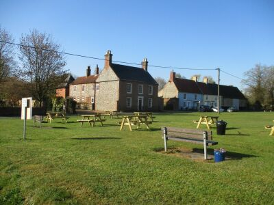 A148 Rudham dog-friendly pub and village green, Norfolk - Driving with Dogs