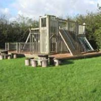 Dog-friendly pub with great food, and dog walks, Dorset - childrens playground.jpg