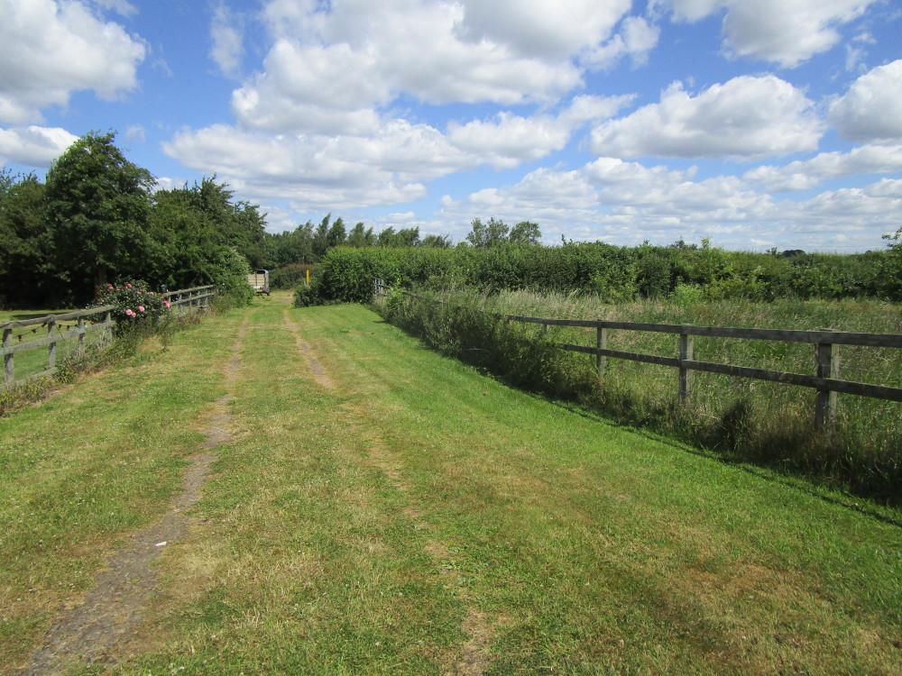 Dog walk in a pretty village near Lutterworth, Leicestershire - Dog walks in Leicestershire