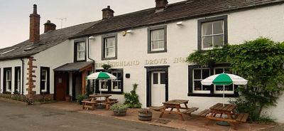 Village pub and dog walk near Penrith, Cumbria - Driving with Dogs