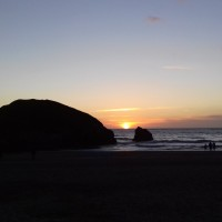 Holywell Bay Beach - dog-friendly, Cornwall - 20190424_202737.jpg