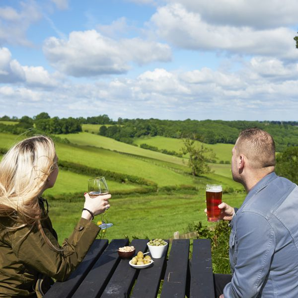 M25 dog-friendly pub and dog walk near Croydon, Surrey - Surrey dog-friendly pub and dog walk