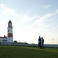 A183 Coast path dog walk near South Shields, Tyne and Wear - dog walk near South Shields.jpg