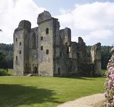 Old castle dog walk and a great family stop, Wiltshire - dog-friendly castle.jpg