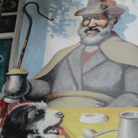 A281 South Downs dog-friendly village pub and walk, West Sussex - Dog-friendly pub with dog walk Sussex.JPG